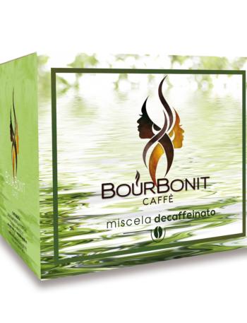 Bourbonit Decaffeinato capsula
